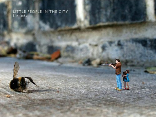 Little People in the City - The Art of Slinkachu
