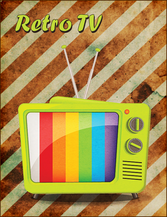 Learn How to Create a Retro TV in Illustrator