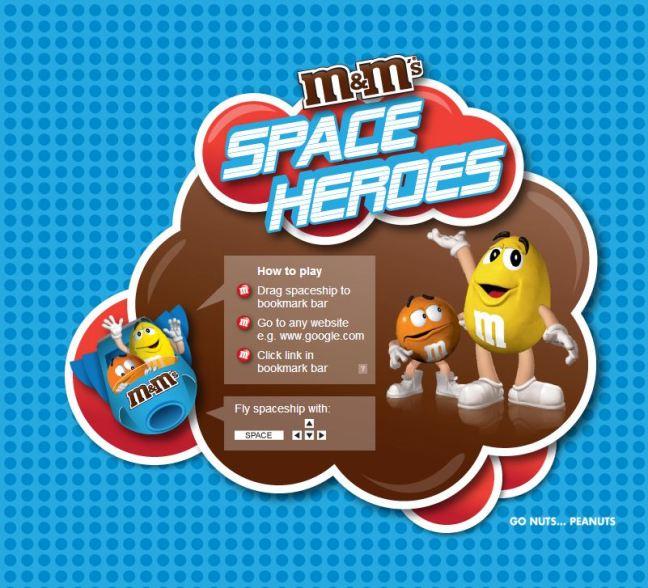 M&Ms Space heroes
