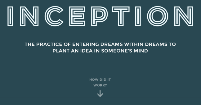 Inception Explained Website